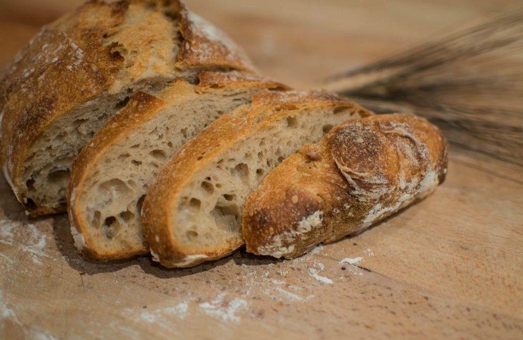 Sourdough bread is a gluten free healthy alternative to processed bread