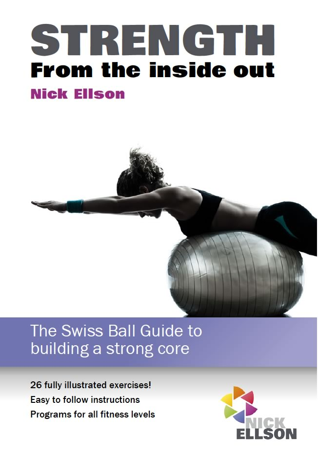 Strength from the inside out - book cover