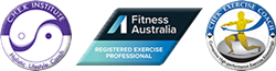 CHEK Institute Lifestyle & Exercise Coach. Fitness Australia Registered Exercise Professional