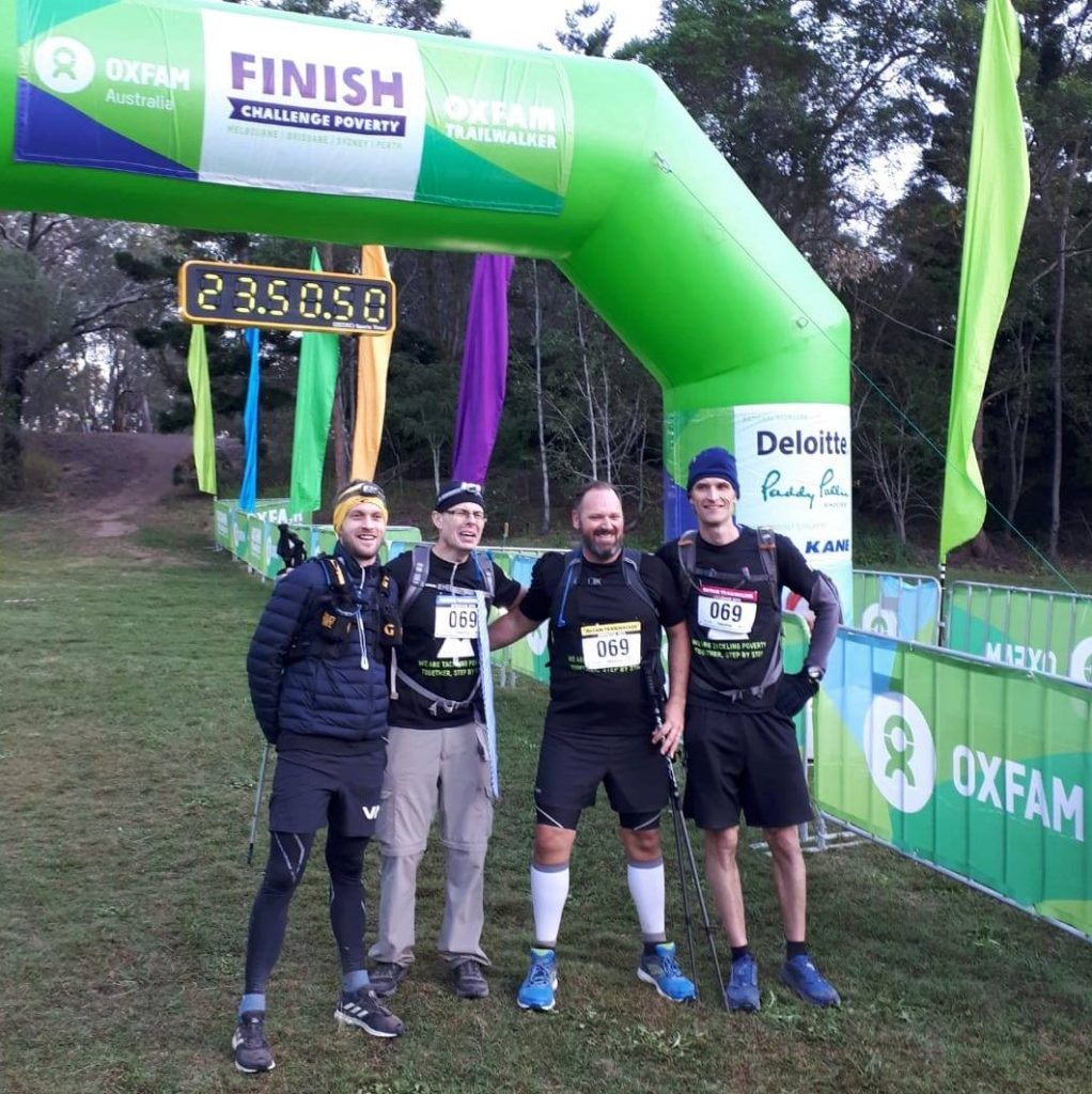 Oxfam Finish Line
