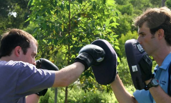 Boxing with Nick Ellson