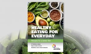 Healthy eating recipes cover