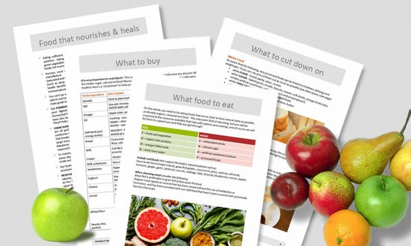 Wholefood guidelines pages